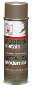 metallic taupe